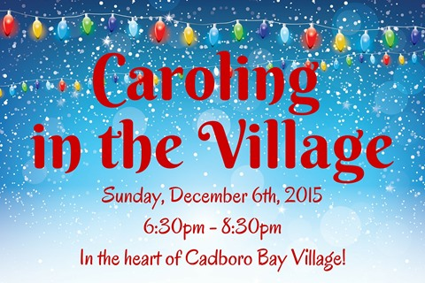 Caroling in the Village