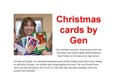 Christmas Cards by Gen
